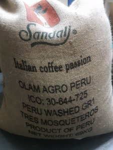 PERU washed Gr. 1 Tres Mosqueteros 1 kg